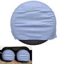 "RV Camper Trailer Wheel Cover for Wheels & Tire Sidewalls Diameter 24"" to 26.5"""