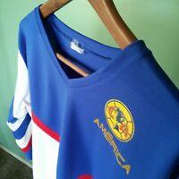 Club America FC Jersey Aguilas Retro Jersey Medium Sleeve Men's Medium