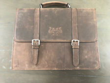 BRAND NEW! - Men's Leather Laptop Briefcase Satchel Messenger Bag