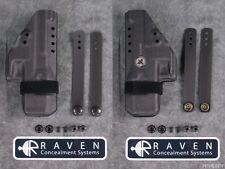 Raven Concealment Glock 19 23 26 27 32 33 Morrigan IWB Kydex Ambi Holster Black