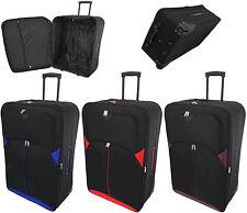 "XL Extra Large 32"" Lightweight Travel Wheeled Trolley Luggage Suitcase Bag Case"