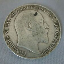 More details for antique king edward vii silver crown coin 1902