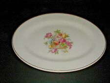 "Harker Pottery Bakerite LOVELACE 13-1/2"" Oval  Platter"