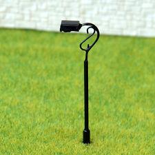 15 pcs HO or OO scale Model Lamppost 12V street light Metal Lamp #647