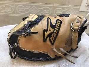 """Mizuno GXC-100 32"""" Youth Baseball Catchers Mitt Left Hand Throw"""