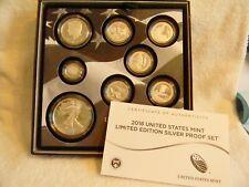 2018 U.S. Mint Limited Edition Silver Proof Set