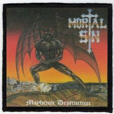 MORTAL SIN PATCH / SPEED-THRASH-BLACK-DEATH METAL
