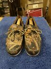 Eastland Made In Maine Yarmouth Camp Moc 12D Rare Mossy Oak Camo Leather W/trees