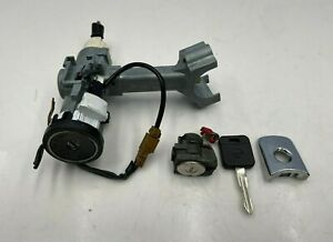 03-08 INFINITI FX35 FX45  IGNITION SWITCH + DRIVER DOOR LOCK CYLINDER W/ KEY SET