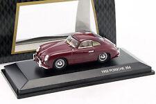 Porsche 356 Année Modèle 1952 Bordeaux 1:43 luckydiecast