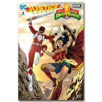 E775 Art Justice League DC Superheroes Comic Batman Superman Wonder Woman Poster