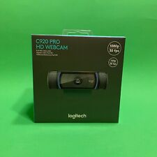 New Logitech C920 Pro HD 1080p Webcam FULL HD Video Calls Windows Mac