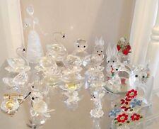 Swarovski Crystal animaux job lot objets collection ornement Sélection Assortiment
