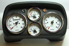 Classica FIAT 500 ABARTH Cruscotto Speedo Tachimetro Quadranti IN PELLE NUOVO DI ZECCA