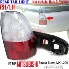 Mitsubishi Starda Storm MK L200 White Red Rear Pair Tail Light RH LH 1995-2005