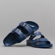 Birkenstock ARIZONA 129433 (Nar) Ladies Womens Buckle EVA Two Strap Sandals Navy
