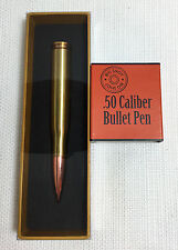 BRASS BIG SHOT .50 Caliber Bullet Pen NIB Great Gift!!