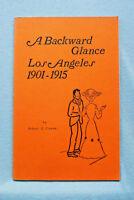 A Backward Glance , Los Angeles 1901-1915 , Cowan