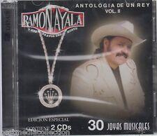Ramon Ayala CD NEW Antologia De Un Rey Vol II RARE 2 Disc SEALED