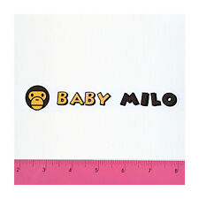 Skateboard Car Window Bumper Guitar Phone Vinyl Decal Sticker - Bape Milo G