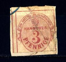 GERMAN STATES - GERMANIA ANTICHI STATI - HANNOVER - 1853 - Nuovo tipo. Indicazio