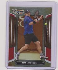 RARE 2008 DONRUSS LEGENDS JIM COURIER TENNIS CARD #38 ~ RED PARALLEL /250