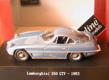 LAMBORGHINI 350 GTV OPEN LIGHTS 1963 LIGHT BLUE METAL STARLINE 560122 1/43