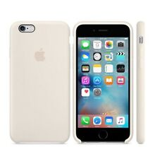"""IPhone 6 S 4.7"""" Antique White New 100% Real Retail Official Apple silicones Case"""