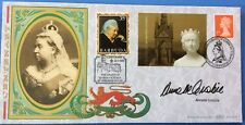 2001 Queen Victoria Centenary FDC Signed ANNETTE CROSBIE, One Foot in the Grave