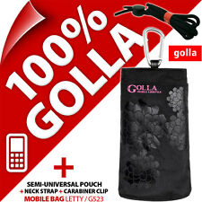Golla Black Phone Case Cover Pouch Bag Clip for Nokia 108 220 225 Samsung E1270
