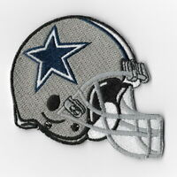 Dallas Cowboys Helmet Iron on Patches Embroidered Badge Patch Applique Sew FN