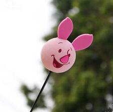 Cute Piglet's big Movie Antenna Balls Car Aerial Ball Antenna Topper Decor Ball