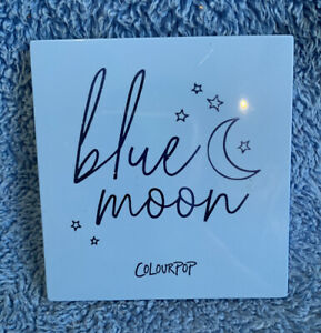 Colourpop Blue Moon Eyeshadow Palette - Monochromatic Blue - MELB STOCK