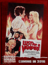 BRITISH HORROR COLLECTION - LUST FOR A VAMPIRE, Suzanna Leigh, PREVIEW Card PR14