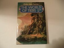 THE WORLD OF TIERS Vol. 1~ Philip Jose Farmer ~  BCE   DJ  Hardback (HC) SCI-FI