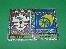 567 CARPI CARRARESE SCUDETTI PANINI FOOTBALL CALCIATORI 1993-1994 CALCIO ITALIA