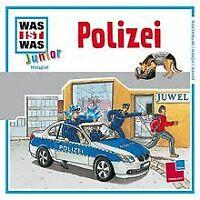 Folge 08: Polizei von Was Ist Was Junior | CD | Zustand gut