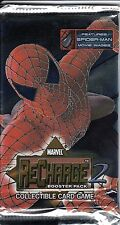 MARVEL RECHARGE 2 COLLECTIBLE CARD GAME BOOSTER PACK *TCG*