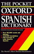 Diccionario espa�ol/ingl�s - ingl�s/espa�ol: The Pocket Oxford Spanish