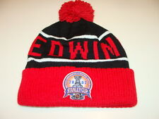 Detroit Red Wings Hockey Cap Hat Beanie Toque Mitchell Ness Stanley Cup Champs