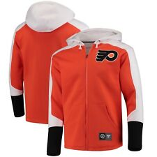 Fanatics Mens Philadelphia Flyers Branded Breakaway Zip Sweatshirt Hoodie Medium