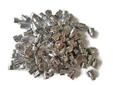 120 Zierstopfen Zierschrauben Chrom Alufelgen Schaftdurchmesser 7,5 mm