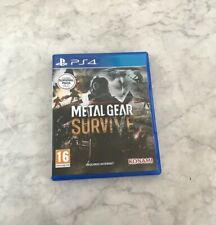 Metal Gear Survive (Sony PlayStation 4, 2018) (PAL/UK Edition Multi Language)