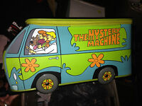 Scooby Doo Large Rolling Luggage Backpack - Mystery Machine--THE VAN !