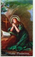 St. Mary Magdalene - Relic Laminated Holy Card - Blessed by Pope Francis