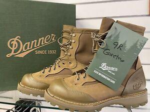 "USMC DANNER Rat 8"" Mojave Gore-Tex Boots Size 9R NEW"