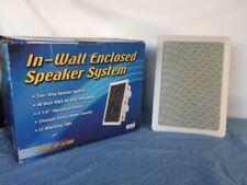 Pair Of CSI SP-525BB In-Wall Enclosed Speaker System 40 Watt RMS/80 Watt Maximum