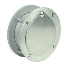 EXHAUST PORT - FOR GARAGE DOORS / WALLS -  FRESH AIR VENT - ALUMINIUM