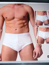 3 SLIP MUTANDA classica uomo CIESSETI Taglia 5/L cotone colore bianco art.10001
