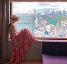 Robe tablier ample carreaux superposition volants rétro vintage Mori Shabby